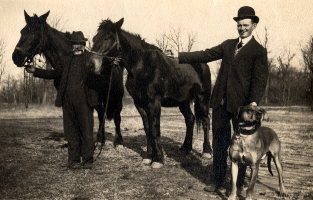 Heary uncle with horses - multiple spellings of last name
