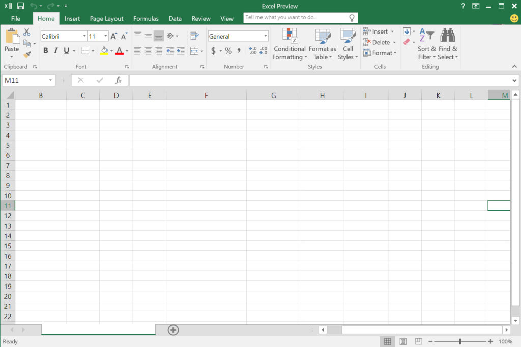 Blank spreadsheet to document genealogy research