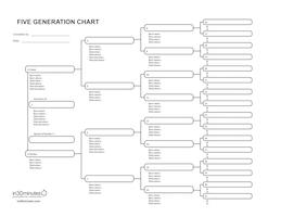 BLANK PEDIGREE CHART paper, .pdf